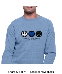 Alternative Unisex Eco-Fleece Crew Design Zoom